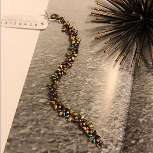 Sorrelli Aurum Floral Line Bracelet